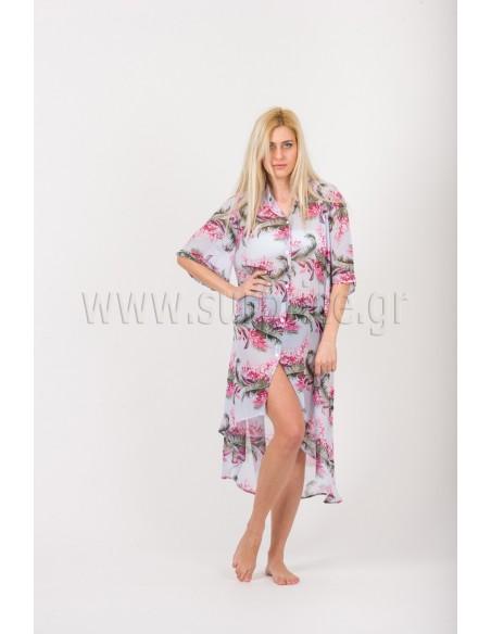 SHIRT DRESS - TUNIC CHIFFON