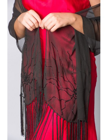 PAREO VISCOSE WITH FRINGES